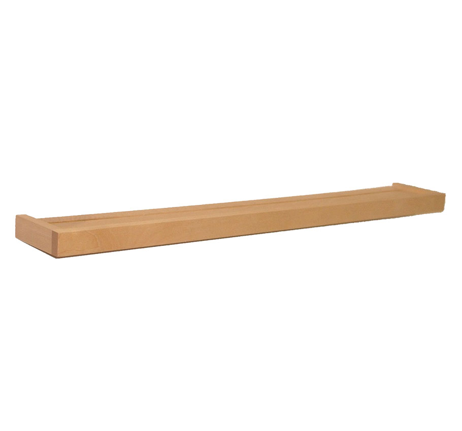 Floating Display Shelf Wood 48 Inch In Wall Mounted Shelves