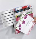 Floating Magazine Rack - Illuzine