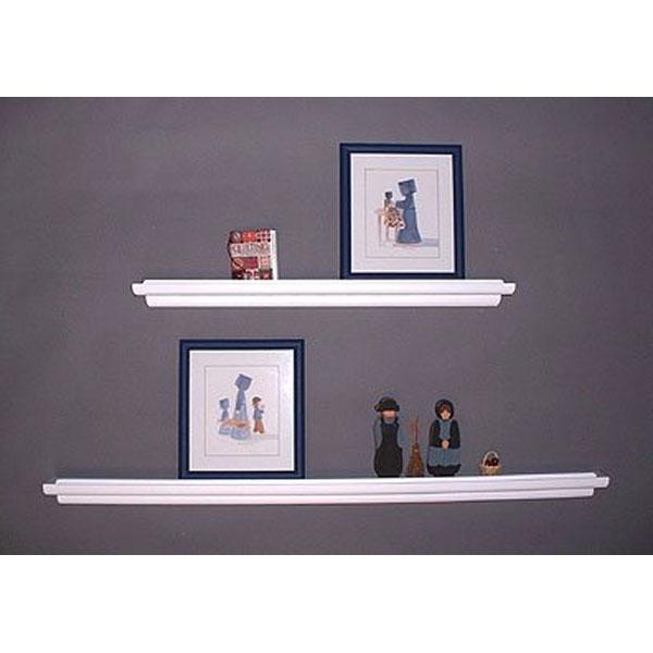 Floating Wall Shelf Display Ledge in Wall Mounted Shelves
