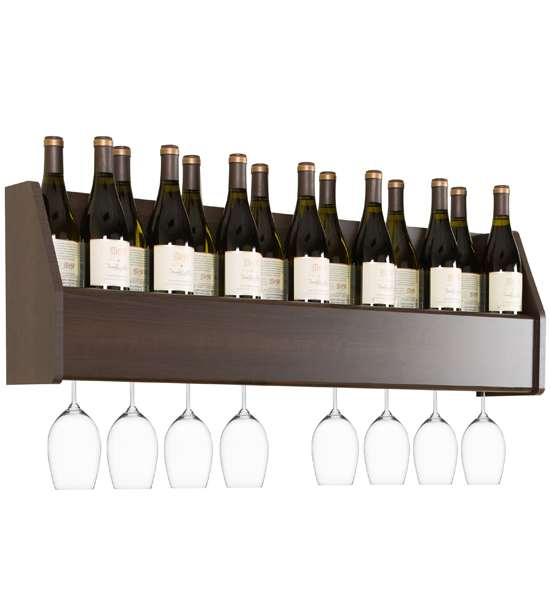 Floating Wine Rack In Wine Racks