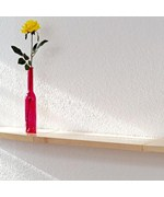 Floating Wood Display Shelf - Beechwood