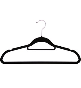 Flocked Suit Hangers (Set of 50) Image