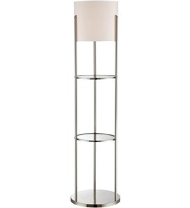 Floor Lamp with Shelves Image