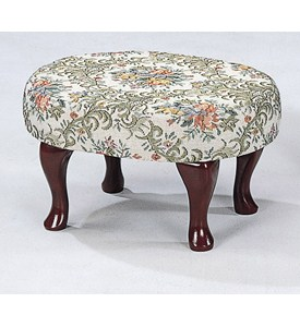 Floral Foot Stool by Coaster Image