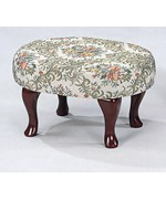 Floral Foot Stool by Coaster
