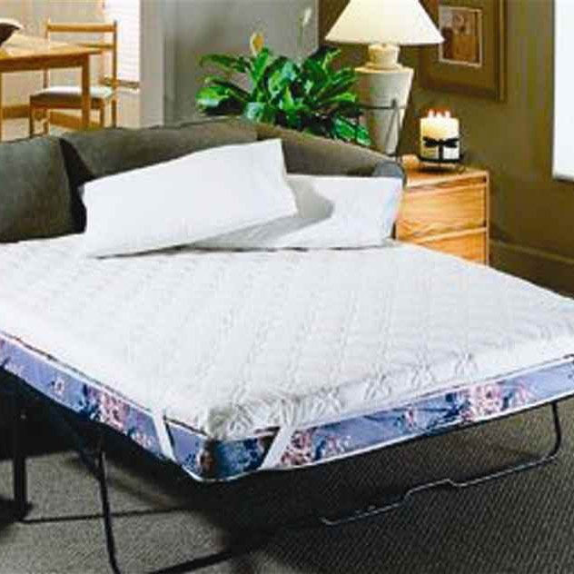 Sofa bed mattress topper in mattresses for Foam topper for sofa bed