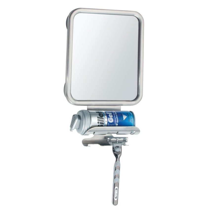 Fogless shower shaving mirror in shower mirrors for Shaving mirror