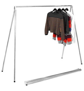 Folding Garment Rack Image