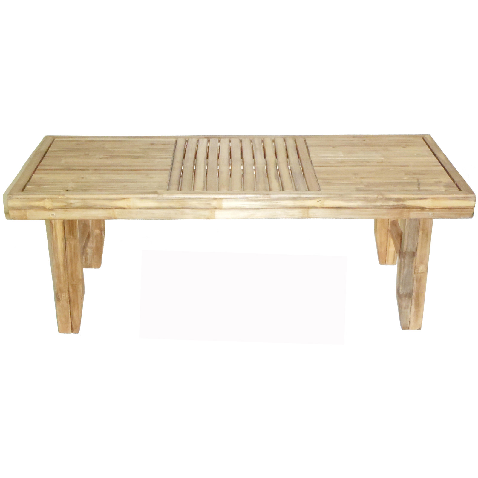 Folding bamboo coffee table by bamboo 54 in coffee tables Folding coffee table