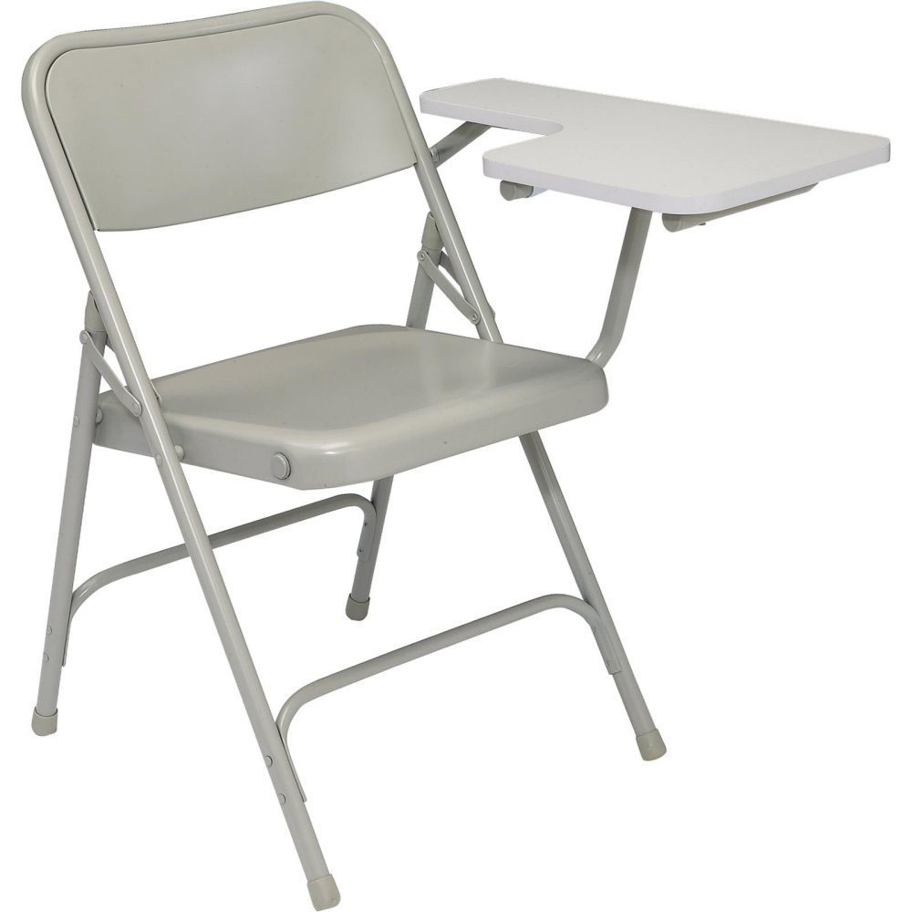Folding Chair With Tablet Arm In Folding Chairs