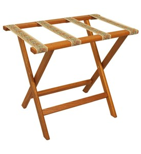Folding Luggage Rack - Tapestry Image