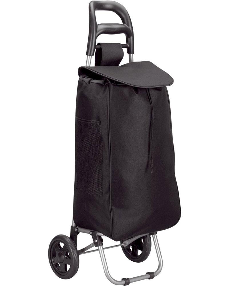 folding shopping cart with wheels image