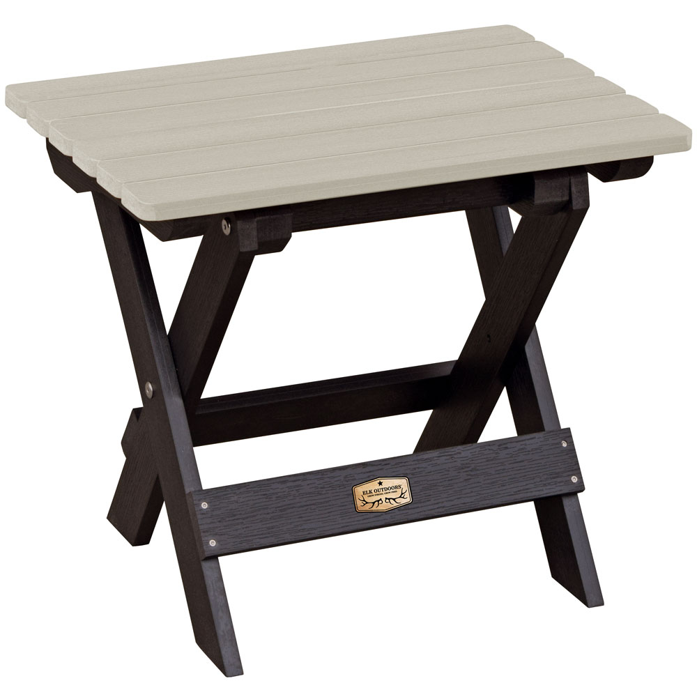 Folding side table in patio side tables - Table cuisine retractable ...