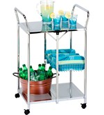 restaurant utility cart | intermetro cart | folding work table