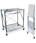 InterMetro Stainless Steel Folding Work Table