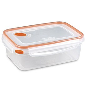 Food Storage Container 8.3 Cup Rectangular Image