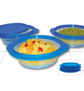 Collapsible Food Storage Containers (Set of 3) Image