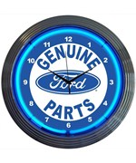 Ford Genuine Parts Neon Clock