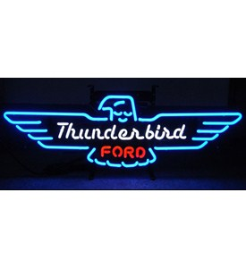 Ford Thunderbird Neon Sign - by Neonetics - 5THUNDER Image