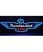 Ford Thunderbird Neon Sign - by Neonetics - 5THUNDER