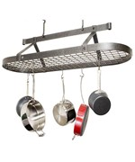 4 Foot Oval Hanging Pot Rack