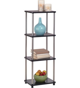 Four-Tier Contemporary Free Standing Shelf Image