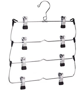 Four-Tier Skirt Hanger Image