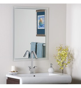 Wall Mirror - Bathroom Frameless Image