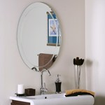 Bathroom Mirror Price modern wall mirrors and frameless mirrors | organize-it