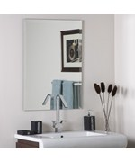 Frameless Rectangle Wall Mirror