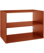 freedomRail Big O-Box Shelf Unit - Cherry