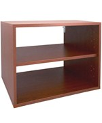 freedomRail O-Box Shelf Unit - Cherry