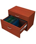 freedomRail Hanging File O-Box - Cherry