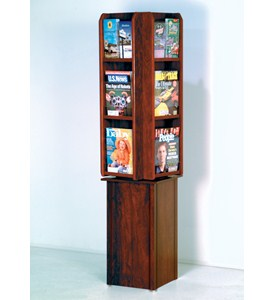 Rotating Magazine Rack Image