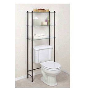 Free Standing Bathroom Shelf Image