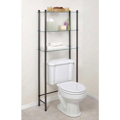 Good Free Standing Bathroom Shelf Image