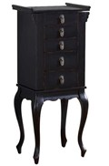 Free Standing Jewelry Armoire
