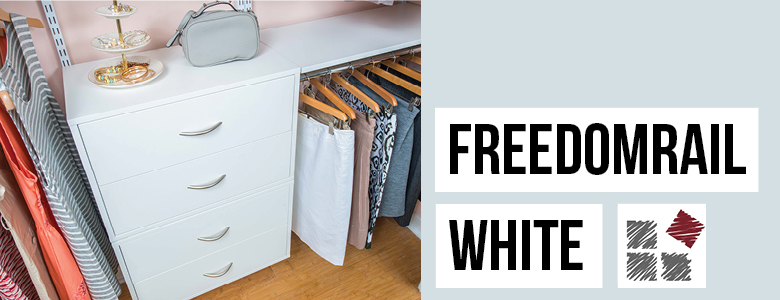 FreedomRail White Laminate Collection