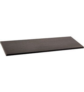 freedomRail 14 Inch Solid Shelf - Midnight Live Image