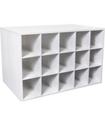 freedomRail Big O-Box Cubby Unit - Snowdrift Live