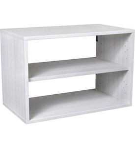 freedomRail O-Box Shelf Unit - Snowdrift Live Image