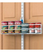Over the Door Organizers Cabinet Door DVD Racks – Over Cabinet Door Storage