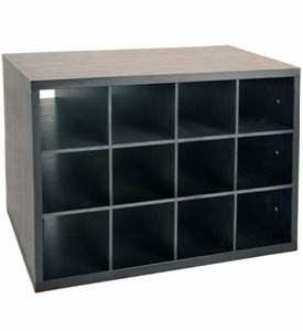freedomRail Shoe Cubby O-Box - Midnight Live Image