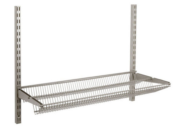 freedomrail two-tier profile wire shelf