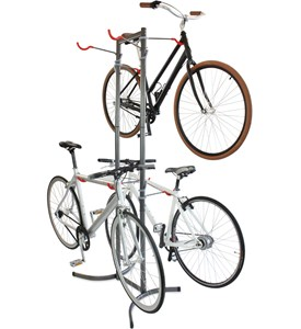 Freestanding Four-Bike Rack Image