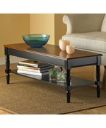 French Country Coffee Table by Convenience Concepts