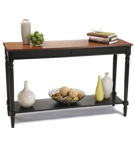 French Country Console Table by Convenience Concepts Image