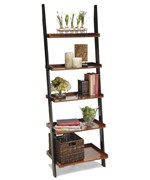 French Country Ladder Bookshelf by Convenience Concepts