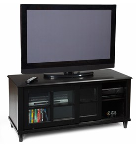 French Country TV Cabinet by Convenience Concepts Image