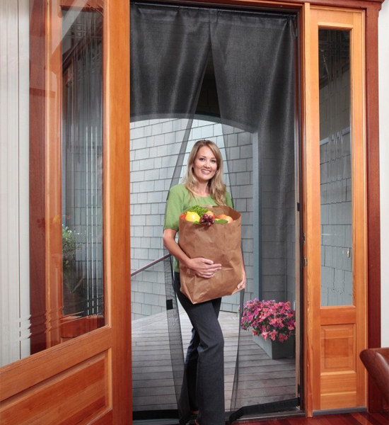 French Door Magnetic Screen Reversible Free Shipping